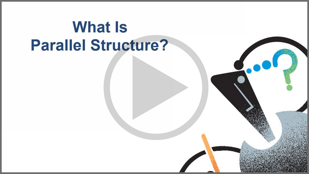 Watch What is Parallel Structure on YouTube