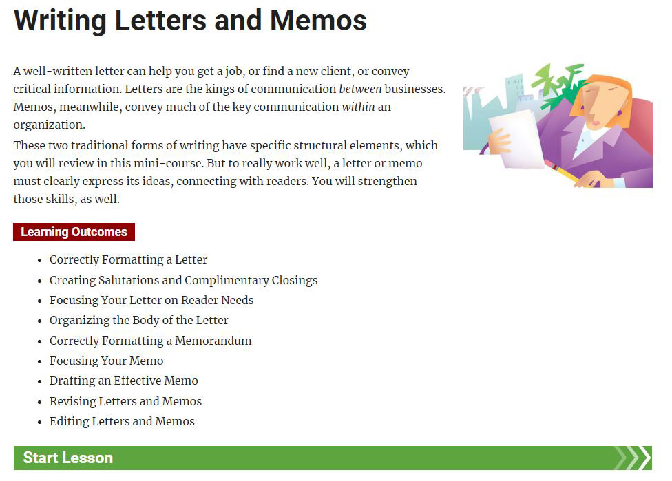 Writing Letters and Memos - Single License