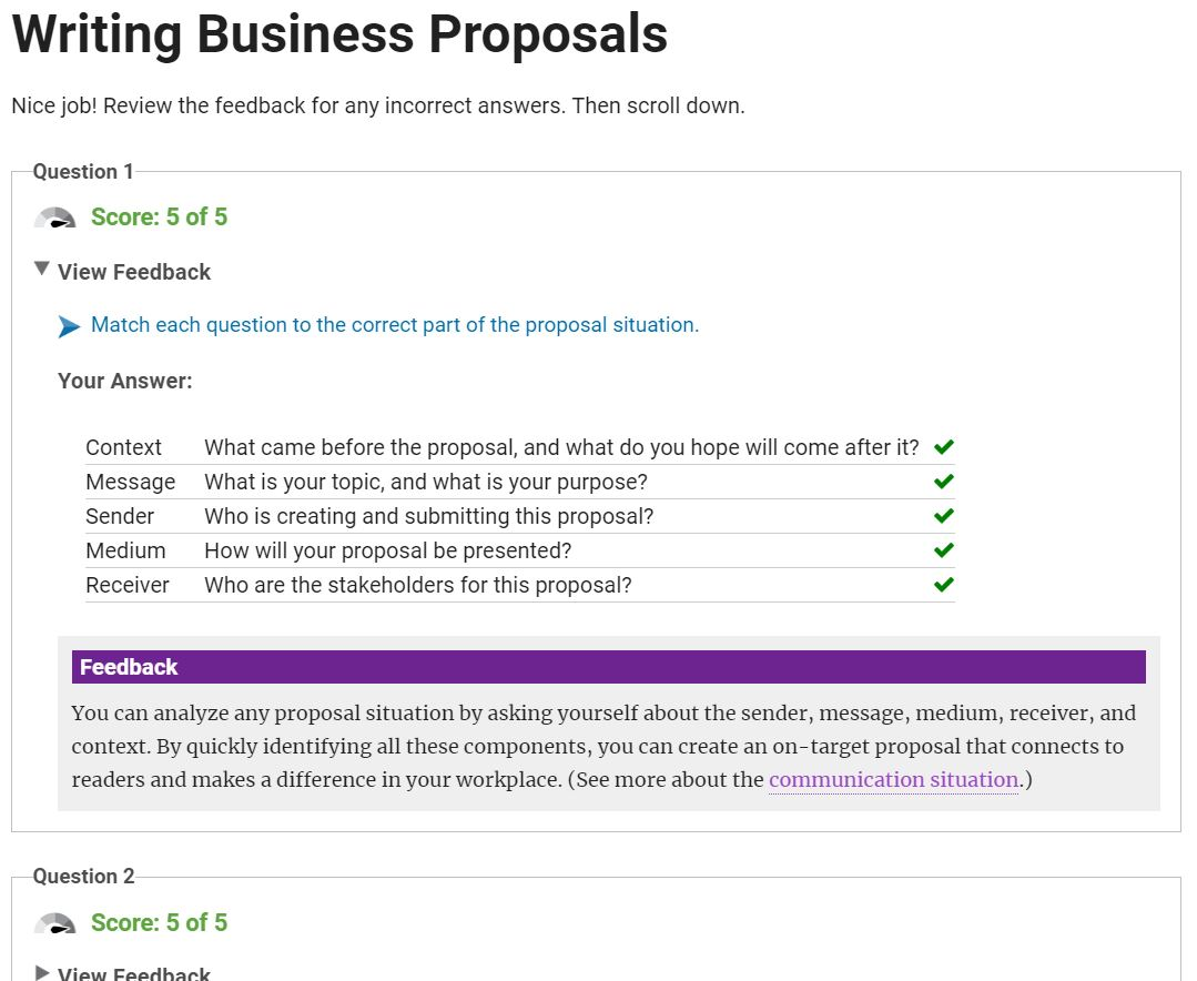 Writing Business Proposals - Single License