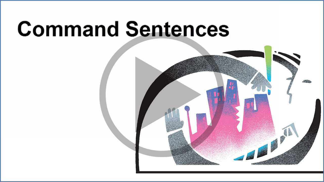 Watch Command Sentences Video on YouTube